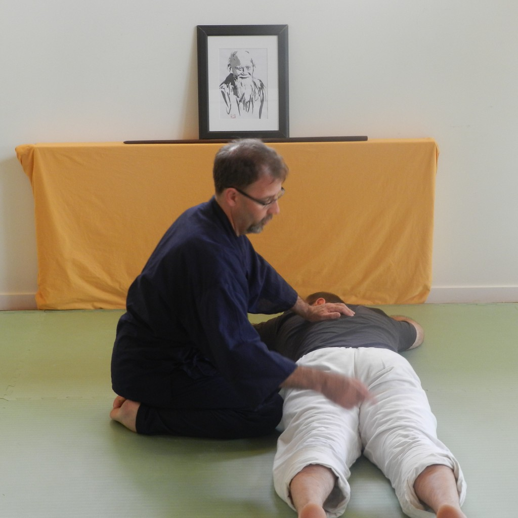 O Sensei et Stéphane