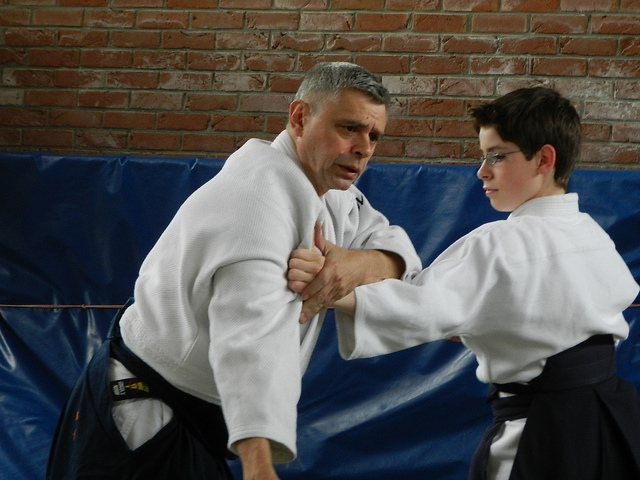 Avec Louis Van Thiegem (2012)