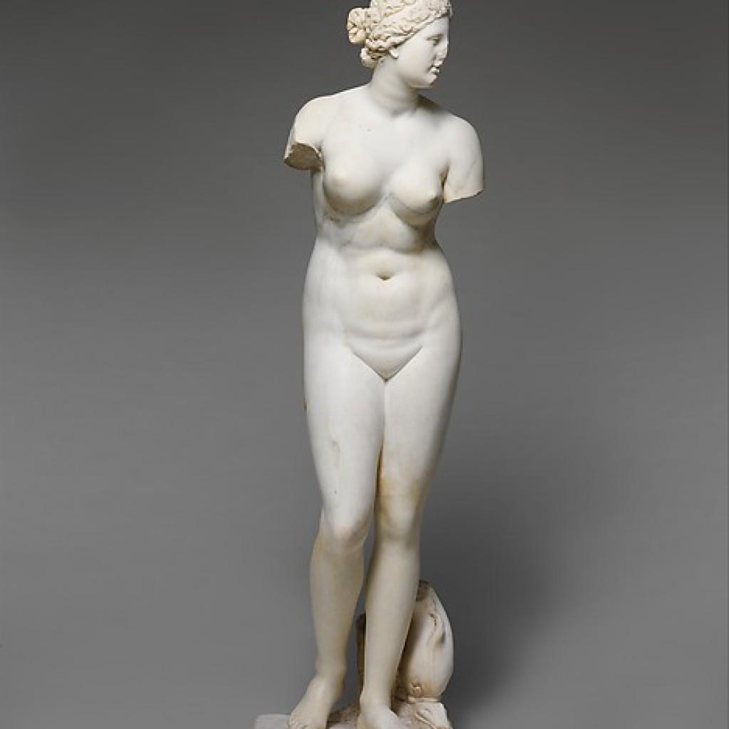 Statue d'Aphrodite - Metropolitan Museum of New York
