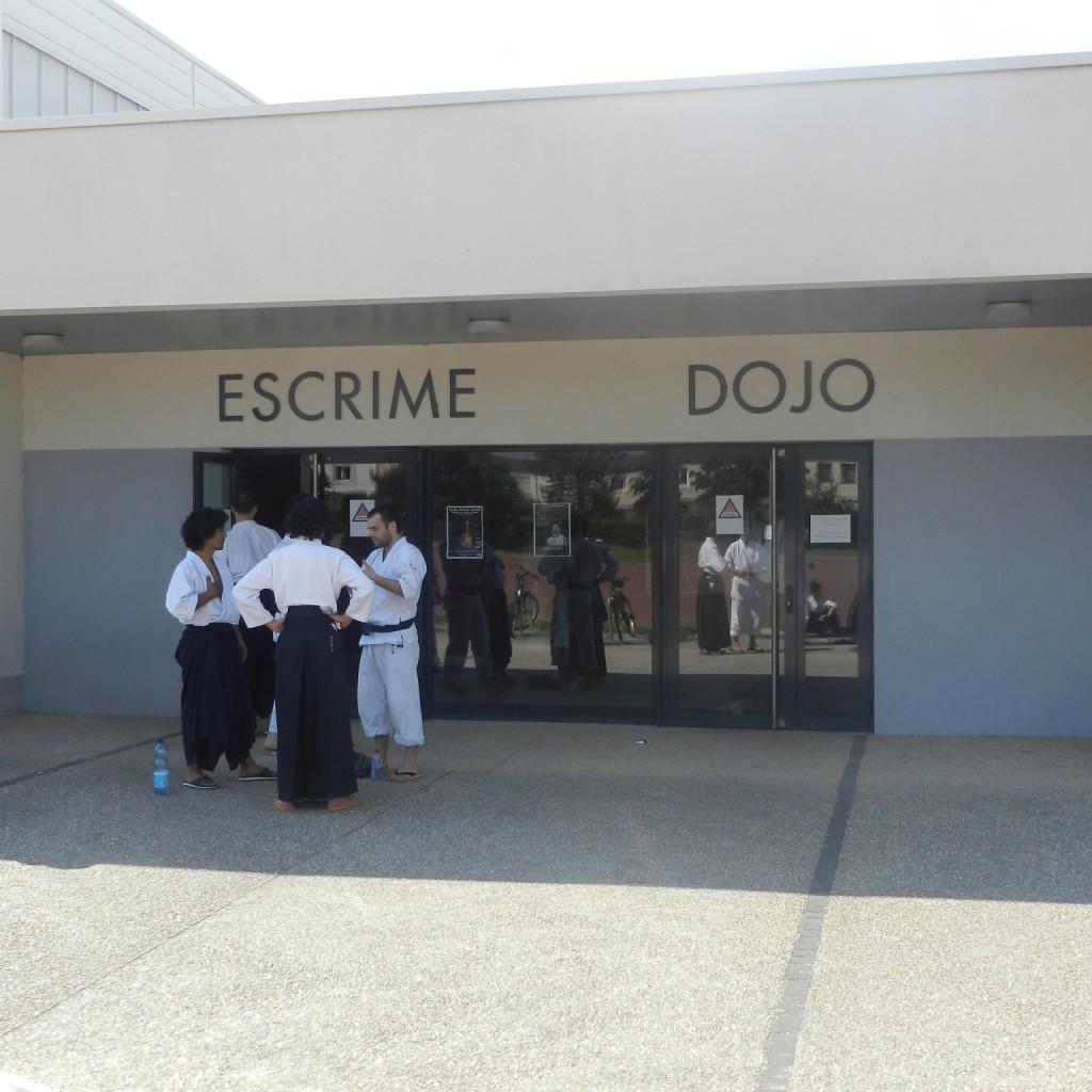 L'entrée du Dojo
