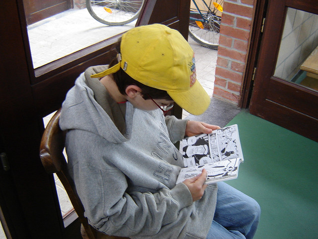 Certains jouent, d'autres lisent en japonais (2008)
