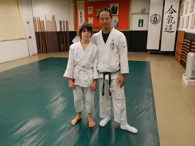 Avec Akuzawa Sensei (2011)