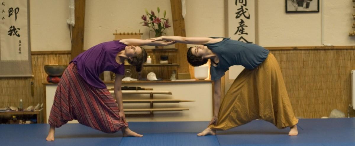 Yoga en Dojo...