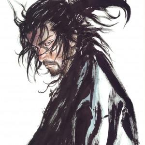 Musashi dans la Bd Vagabond